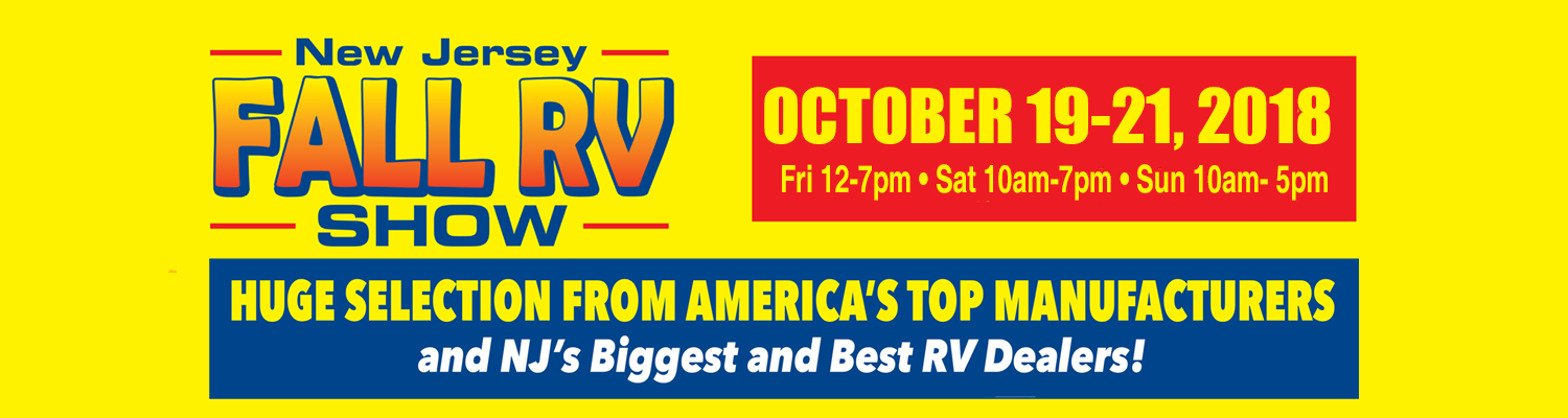 NJ Fall RV Show  2018